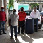 Se refuerza la sanitización del Ayuntamiento de Lázaro Cárdenas