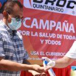 Concientiza la CROC QRoo a obreros sobre el uso de cubrebocas