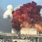 'Explosión en Beirut se sintió a más de 10 kilómetros'